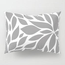 Bloom - Gray Pillow Sham
