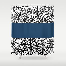 lud Shower Curtain