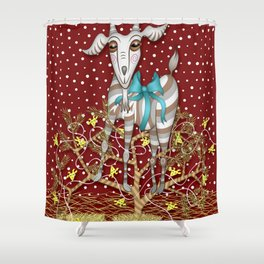 I Come Beh-eh-eh-eh-rring Gifts Shower Curtain