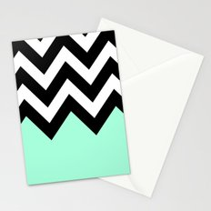 REVERSE COLORBLOCK Stationery Cards