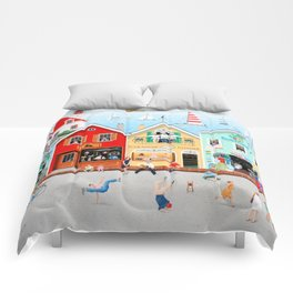 The Singing Bakers Comforters