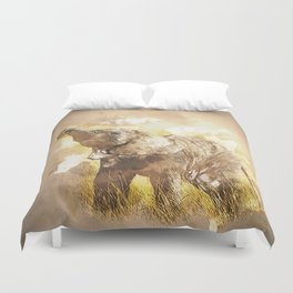 Elephant - It's Tea Time! Duvet Cover