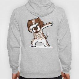 Dabbing German Shorthaired Pointer Dog Dab Dance Hoody