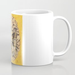 Brain section showing visual system pathway Coffee Mug