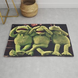 Kermit - Green Frog Rug