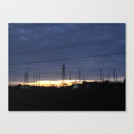 Electric Generation Canvas Print