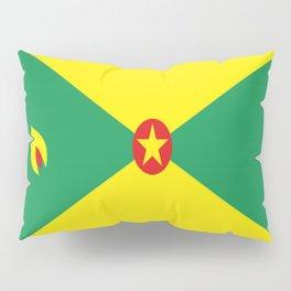 Grenada Flag Throw design Pillow Sham