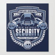 Compliance Enforcement Canvas Print