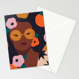 Fruit and Flowers Stationery Cards