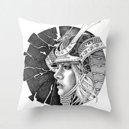 samurai passion Throw Pillow