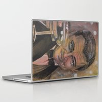 the great gatsby Laptop & iPad Skins featuring The Great Gatsby by Marianne Goodell Art