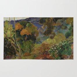 Paul Gauguin - Martinique Landscape. Rug