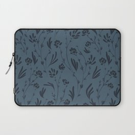 Wild Cosmos, Denim Blue Laptop Sleeve