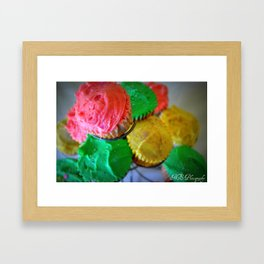 Cupcake Framed Art Print