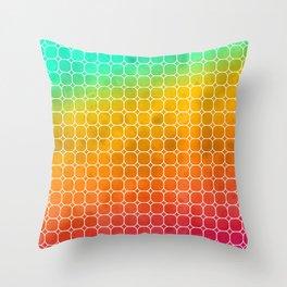Rainbow Pattern #1 Throw Pillow