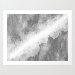 LIGHT SPLIT Art Print