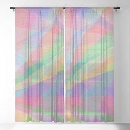 Twirls Sheer Curtain