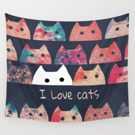 cat-123 Wall Tapestry