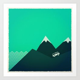 Travel! Art Print