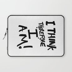 I think therefore I am - inverse redux Laptop Sleeve