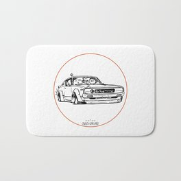 Crazy Car Art 0017 Bath Mat