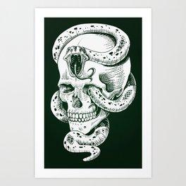 Dark Mark Art Print