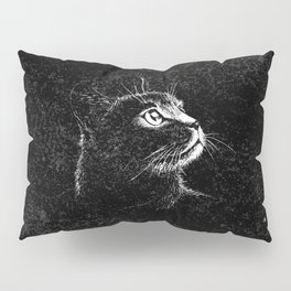 Cat Portrait Pillow Sham