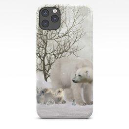 Awesome polar bear iPhone Case