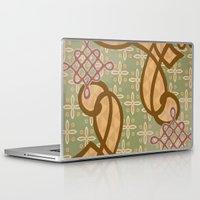 art nouveau Laptop & iPad Skins featuring Art Nouveau by Nacho Filella Design