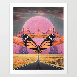 Westward Flight Art Print
