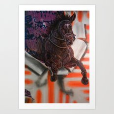 The Charge Pt. 3 Art Print