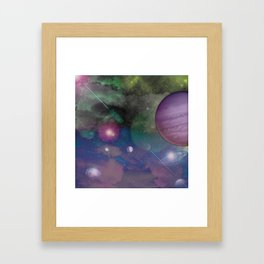 Galatica Framed Art Print