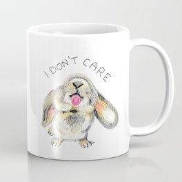 I don't care bunny Coffee Mug