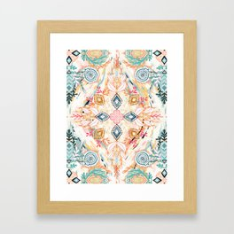Wonderland in Spring Framed Art Print