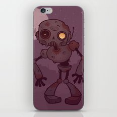 Rusty Zombie Robot iPhone & iPod Skin