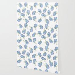 Blue Hydrangea, Still Life Wallpaper