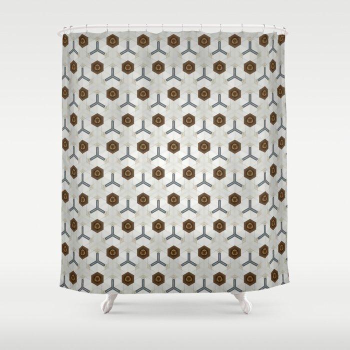 Kaleidoscope 005 Shower Curtain