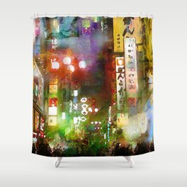 Just one street Shower Curtain
