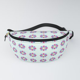 geometric flower 2 Fanny Pack
