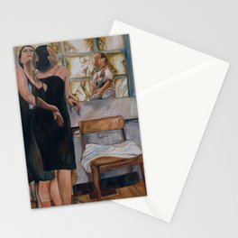 """""""The Window"""" by Lindsay R. Wiggins Stationery Cards"""