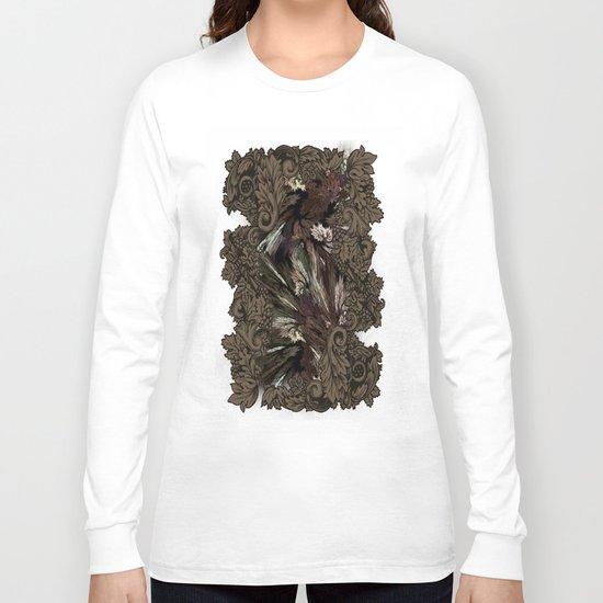 Impressive Brier Pattern  Long Sleeve T-shirt
