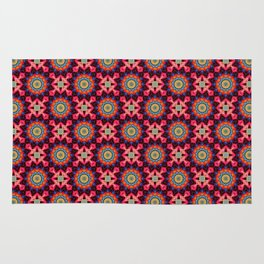 Mandala pattern Rug