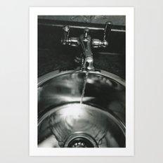 Funeral Sink Art Print