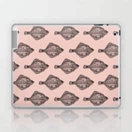Pink flatfish pattern Laptop & iPad Skin