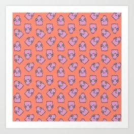 Blotch Pattern Art Print
