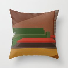 Quiet Morning Throw Pillow
