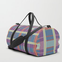 Setting Sun Plaid Duffle Bag