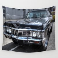 supernatural Wall Tapestries featuring Impala - Supernatural by VHS Photography