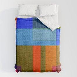 harmony of colors Comforters