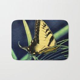 Yellow Tiger Swallowtail Butterfly A125 Bath Mat